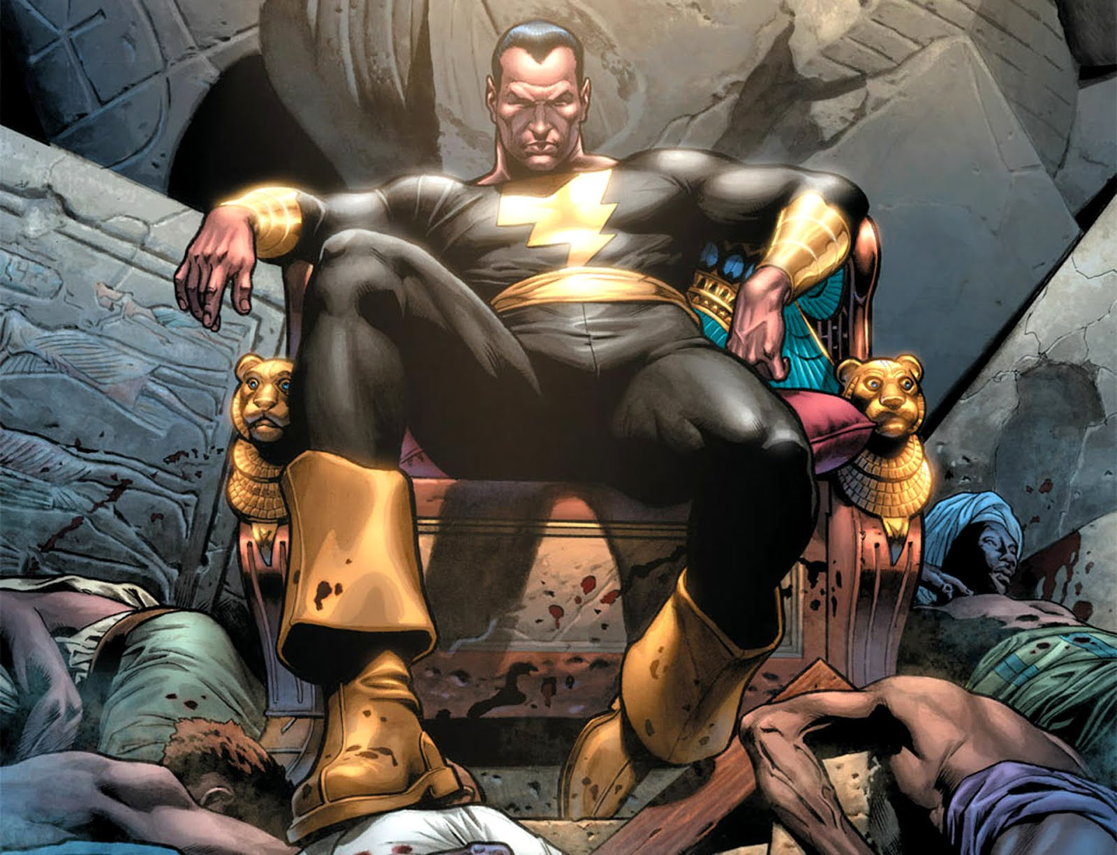 Villano Black Adam