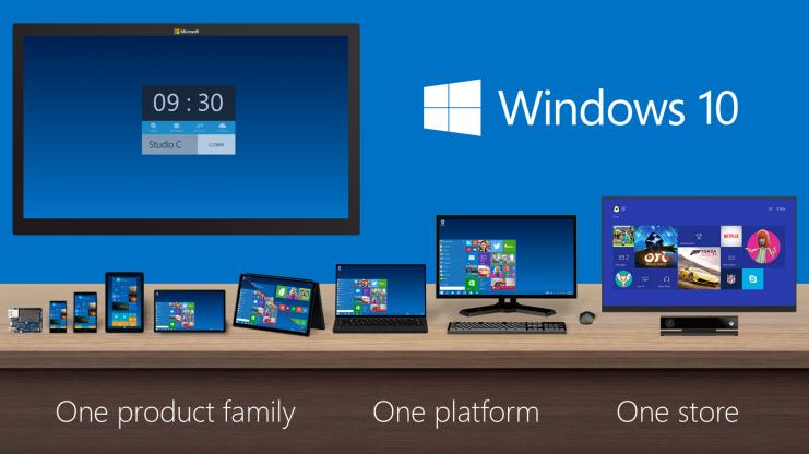 Windows 10 será compatible con múltiples pantallas