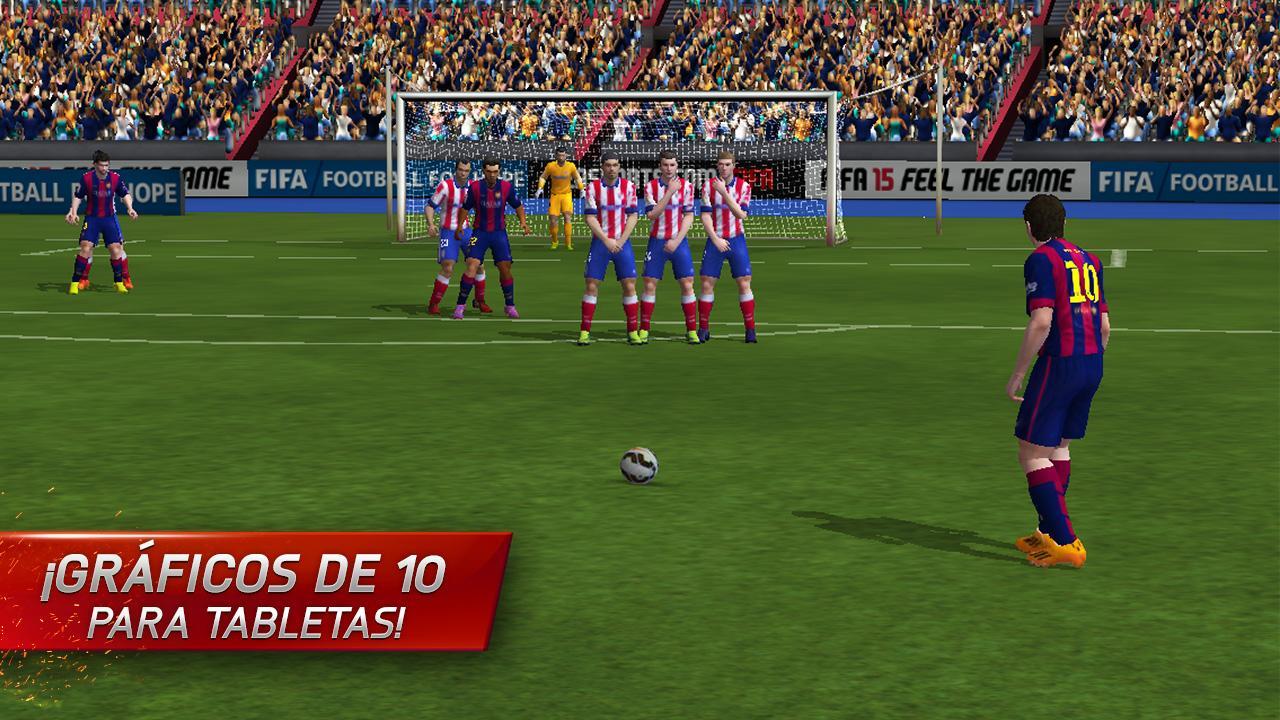 Graficos de FIFA 15