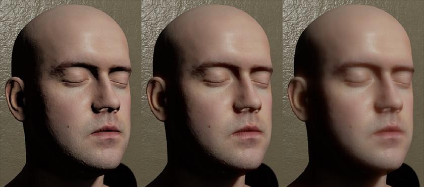 Así se ve la piel en Unreal Engine 4.5