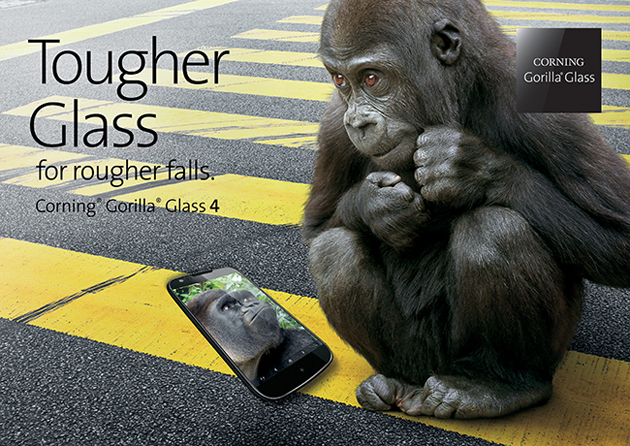 Gorilla Glass 4 estará disponible en el 2015