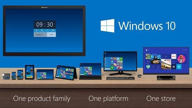 Windows 10 estara presente en decenas de pantallas y equipos