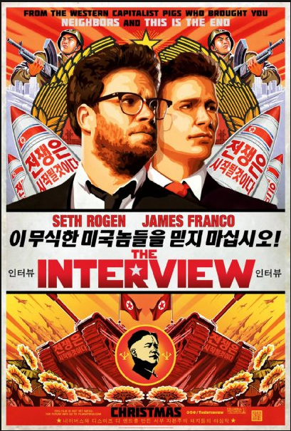Poster The Interview