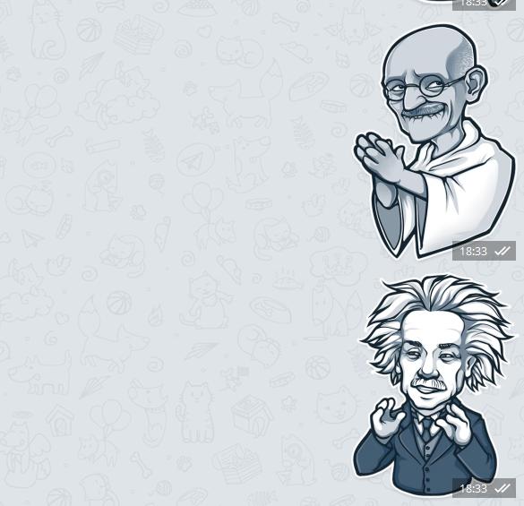 Stickers en Telegram