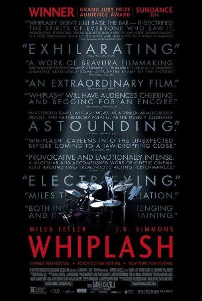Poster oficial de Whiplash