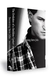 Portada de Becoming Steve Jobs