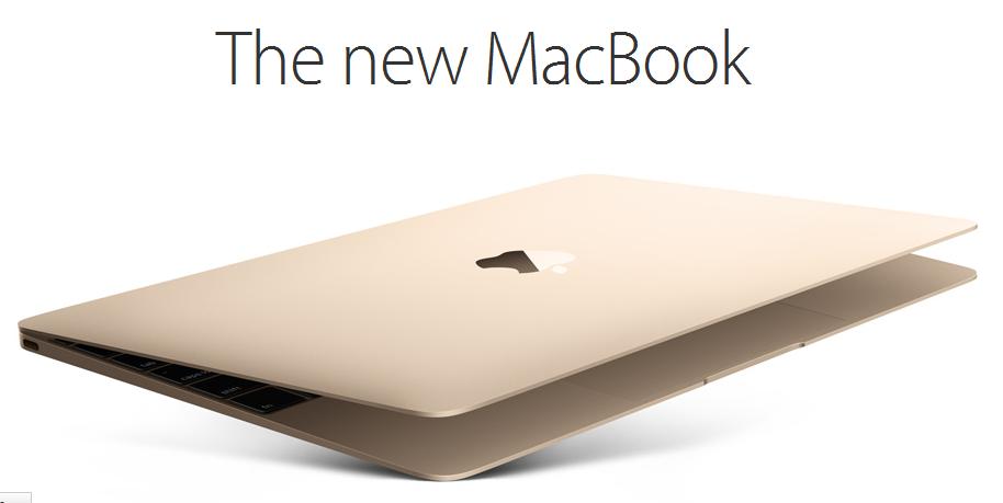 MacBook Retina Dorado