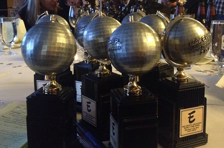 Estatuilla de los Premios Eisner