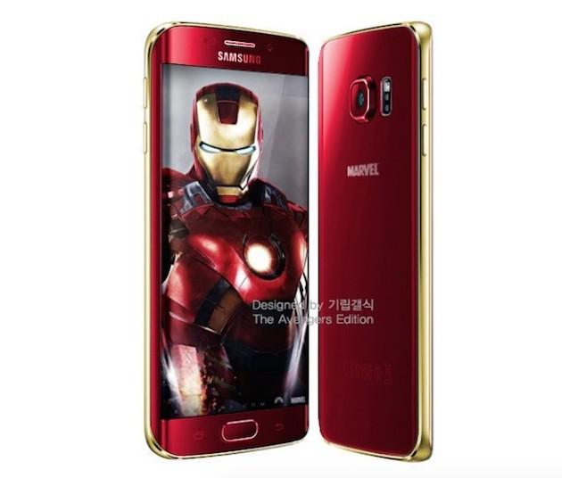 Iron Man Edition del Galaxu S6 y S6 Edge