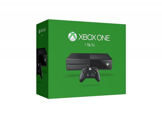 Caja de la Xbox One de 1 TB