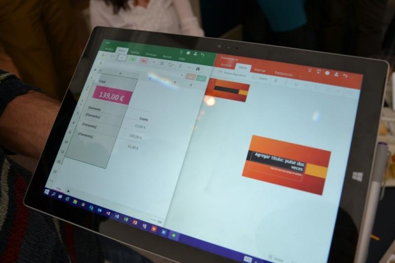 Así se ve la versión universal y touch de Office