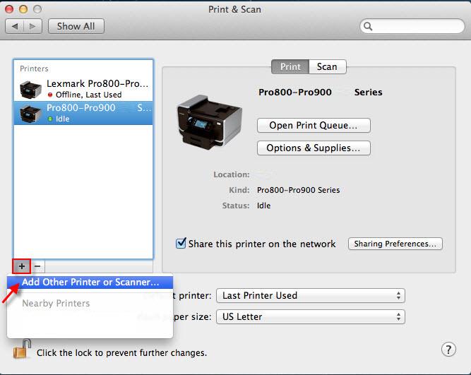 Configurar impresora OKI MB461+LP en Mac Os