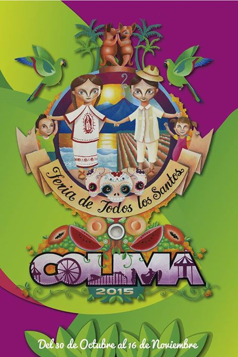 La cartelera  de artistas del Palenque Feria Colima 2015