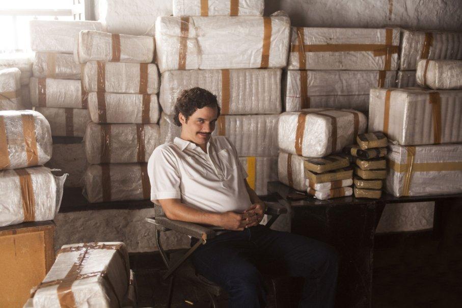 Pablo Escobar en su momento más próspero con la cocaína