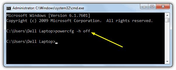 Te indicamos como desactivar Hibernación en linea de comandos para Windows 8 y 10