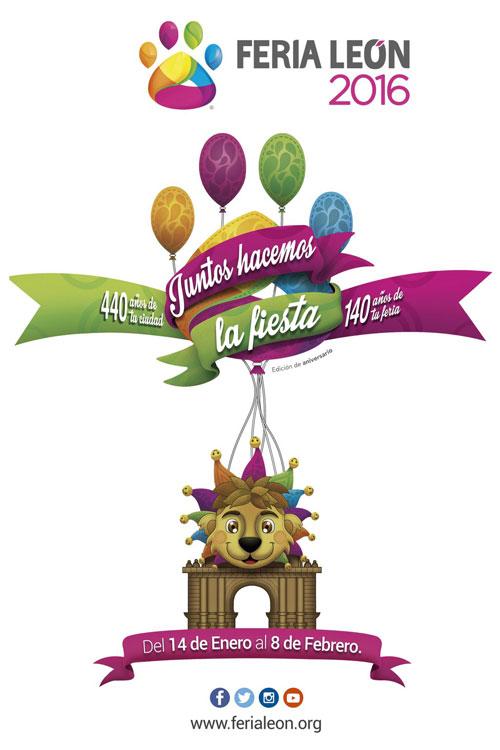 Cartel Feria de León 2016