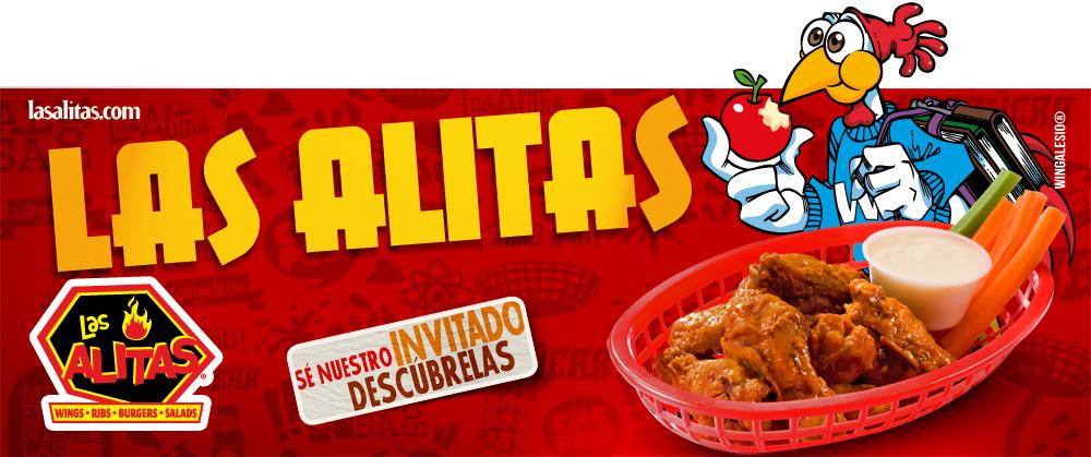 Te indicamos los pasos para facturar tus consumos en restaurantes Las Alitas
