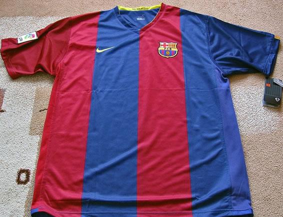 Las primeras camisetas del Barça sin publicidad