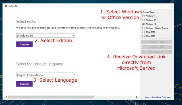 Descarga las ISO de Windows de manera sencilla