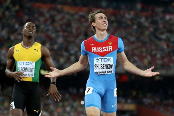 Serguéi Shubenkov, especialista en los 110 metros vallas