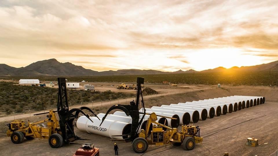 El proyecto de Hyperloop One en proceso