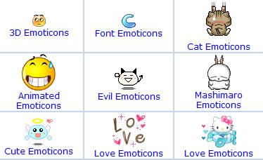 Más iconos y caritas para el messenger