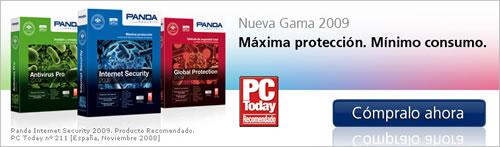 Antivirus 2009 de Panda