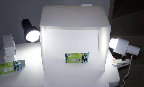 Como hacer una caja de luz barata
