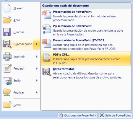 Como Guardar nuestros archivos de Office como PDF