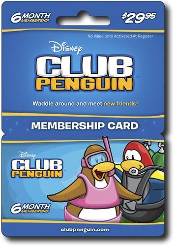 Tarjeta Gratis para Club Penguin