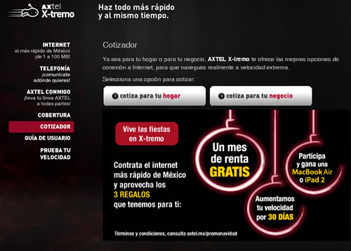 Internet de Fibra Optica en México