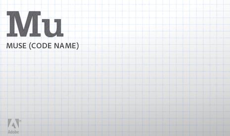 """Adobe presenta """"Muse"""" para los diseñadorees web"""