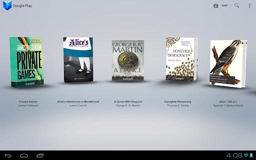 Google Play Books: tienda para e-books de Google,