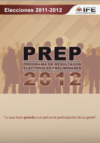 Como consultar el PREP de la elecciones 2012 desde el celular