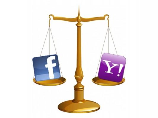 Yahoo y Facebook firman la pipa de la paz