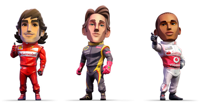 F1 Race Stars llegara en novembre para consolas y PC