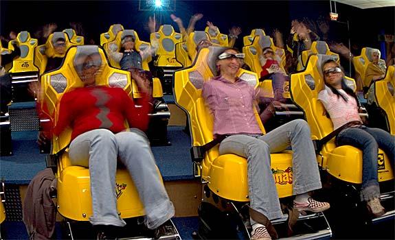 El 3D ya tiene su sucesor, el 4D ofrece una experiencia inolvidable para el espectador