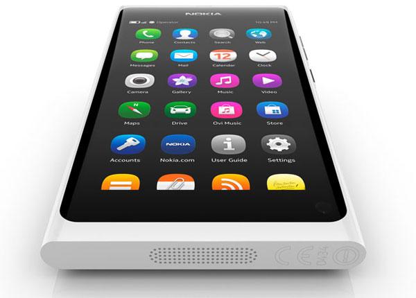Telefono N9 desarrollado por Nokia