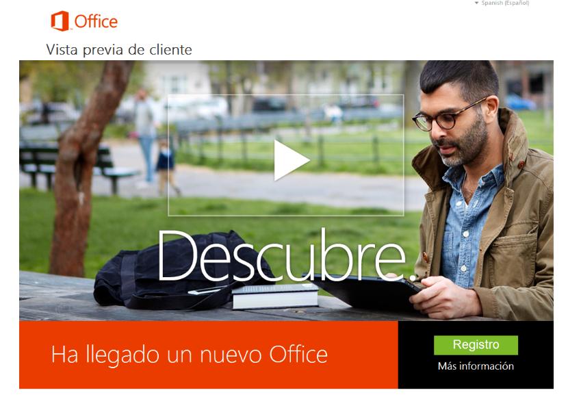 novedades de la suite de ofimatica de Microsoft