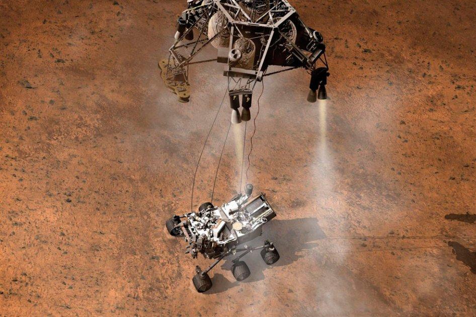 El vehiculo robotizado comenzara a enviar datos sobre vida en la superficie de marte