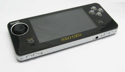 Este es el diseño de la consola de SNK, NeoGeo X
