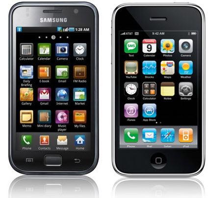 Apple exige que se retiren del mercado algunos móviles Samsung