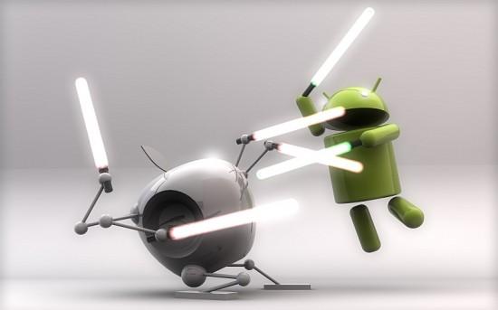 La lucha entre Samsung y Apple es otro episodio de iOS contra Android