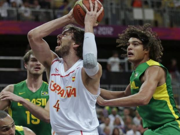 Seleccionado español de basketball a los cuartos de final