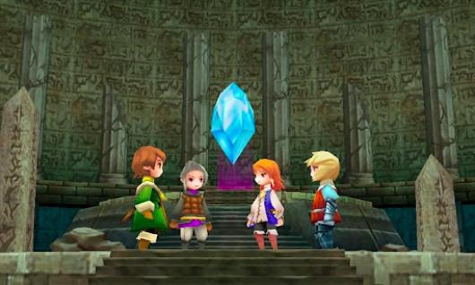 Los cristales de Final Fantasy 3