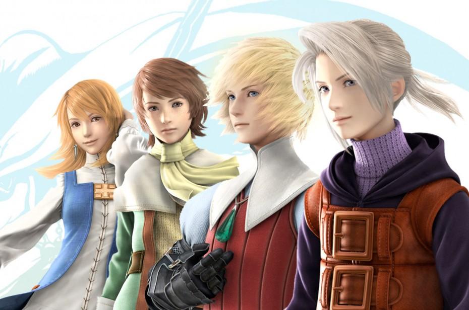 Los protagonistas de Final Fantasy III