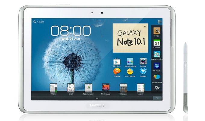 Samsung apunta a una experiencia con Stylus, en su Galaxy Note 10.1