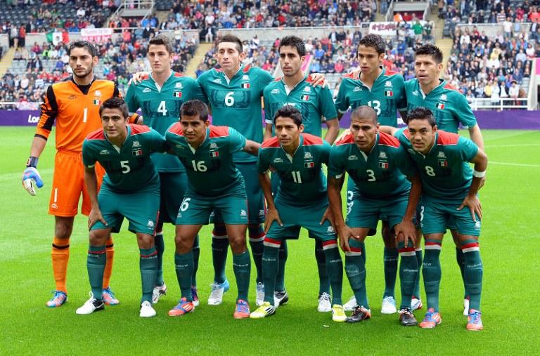 El equipo de fútbol Sub 23 de México
