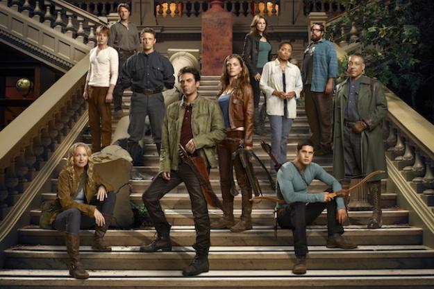 El cast de Revolution