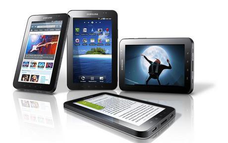 La tableta Samsung Galaxy Tab